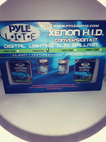 PYLE HID KIT H3 8000K LIGHT BLUE