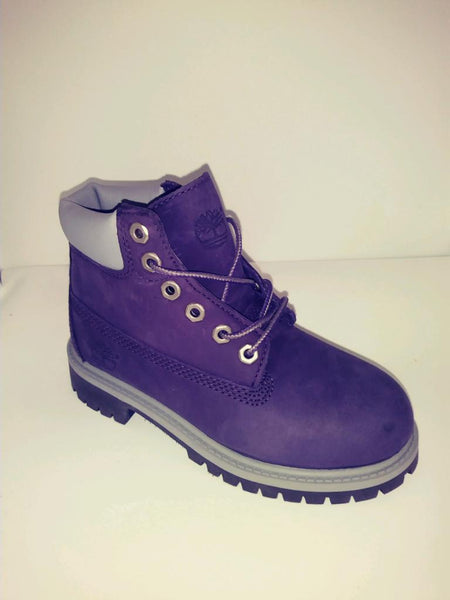 TIMBERLAND PURPLE BOOT YOUTH'S/JEUNEA PS
