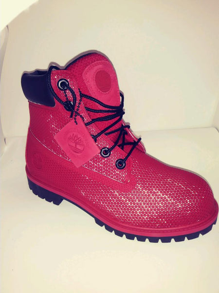 TIMBERLAND RED WEB WATERPROOF BOOT JUNIOR's GS