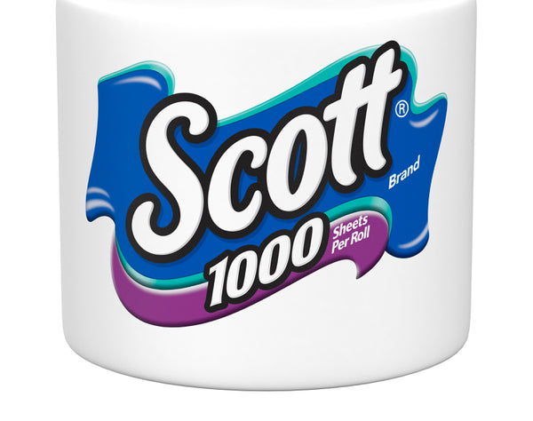 SCOTT INDIVIDUAL ROLL or 4 PACK 1000 SHEET PER ROLL