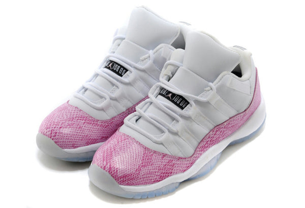AIR JORDAN RETRO 11 PINK SNAKE SKIN PS