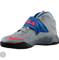 LEBRON ZOOM SOLDIER 7 GREY CRIMSON GS