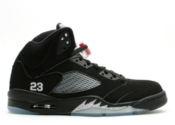 AIR JORDAN RETRO 5 BLACK METALLIC 2010 RELEASE
