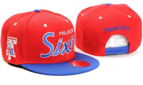 MITCHELL & NESS PHILADELPHIA 76ERS SNAP BACK HAT