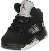 AIR JORDAN RETRO 5 SILVER METALLIC Toddler TD