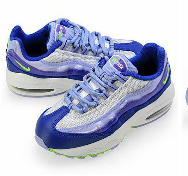 NIKE AIR MAX 95 LE (LIMITED EDITION) WHITE PURPLE LAST ONE SZ 13Y PS