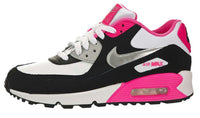 AIR MAX 90 2007 WHITE METALLIC SILVER HYPER PINK TODDLER