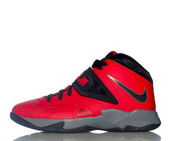 NIKE LEBRON SOLDIER 7 RED grade school sizes boys