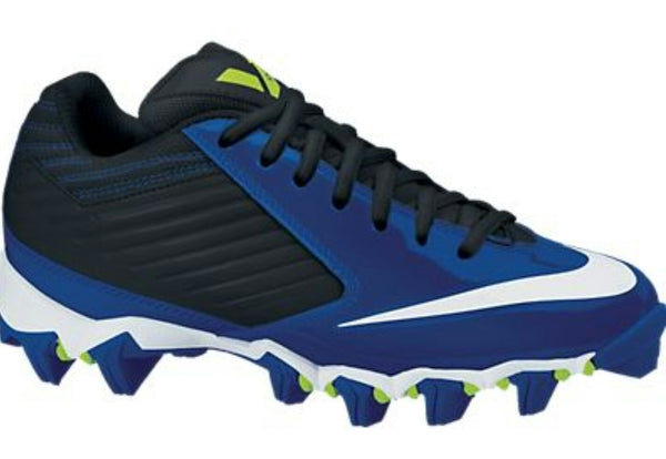 NIKE VAPOR SHARK FOOTBALL CLEATS BLUE