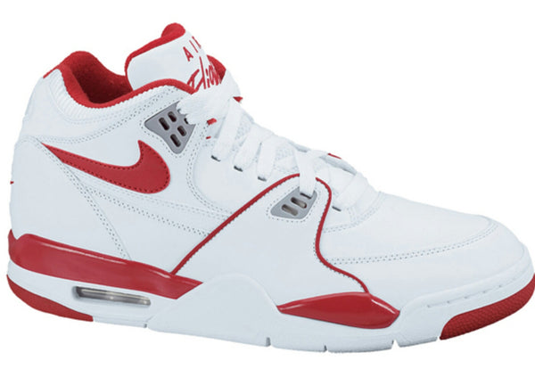 NIKE FLIGHT 89 WHITE VARSITY RED LAST ONE SZ 13