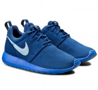NIKE ROSHE RUN BLUE SZ 5 GS