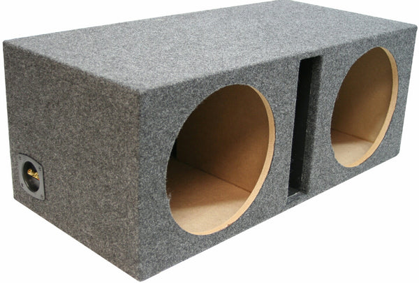 "15"" DUAL VENTED MDF SUBWOOFER BOX"