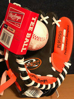 "RAWLINGS TEE BALL 9.5"" LEFT HAND GLOVE FOR RIGHT HAND THROWER"