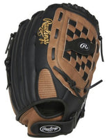 "RAWLINGS SOFTBALL 14"" LEFT HAND GLOVE FOR RIGHT HAND THROWER"