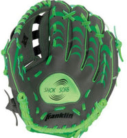 "FRANKLIN INFINITE WEB TEE BALL 10.5"" LEFT HAND GLOVE FOR RIGHT HAND THROWER"