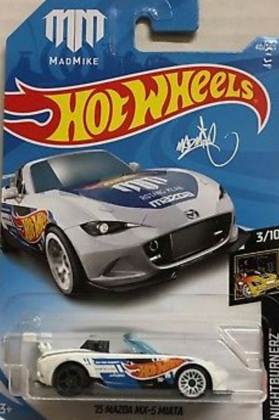 HOT WHEELS 2015 MADZA MX-5 MIATA ERROR