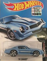 HOT WHEELS CHEVORLET CAMERO 1981