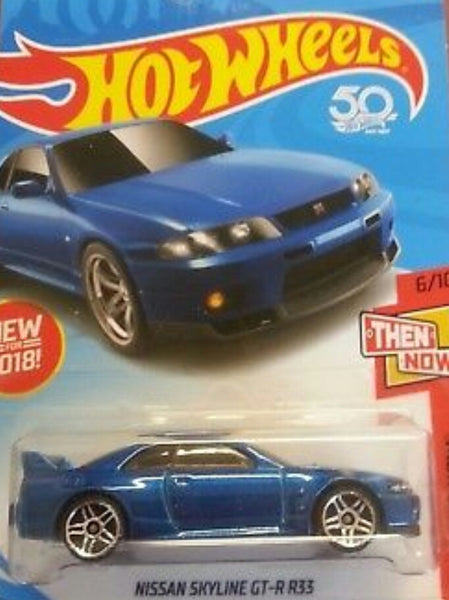 HOT WHEELS NISSAN SKYLINE GT-R 33