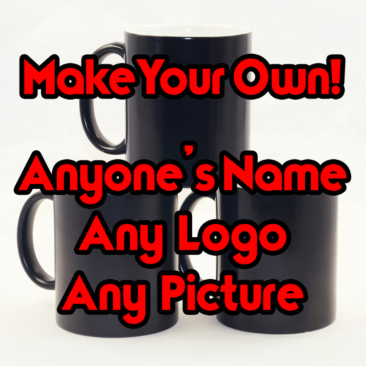 MAKE YOUR OWN - Ceramic Heat Changing Mug