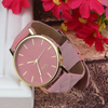 Image of Women's Casual Leather Analog Watch
