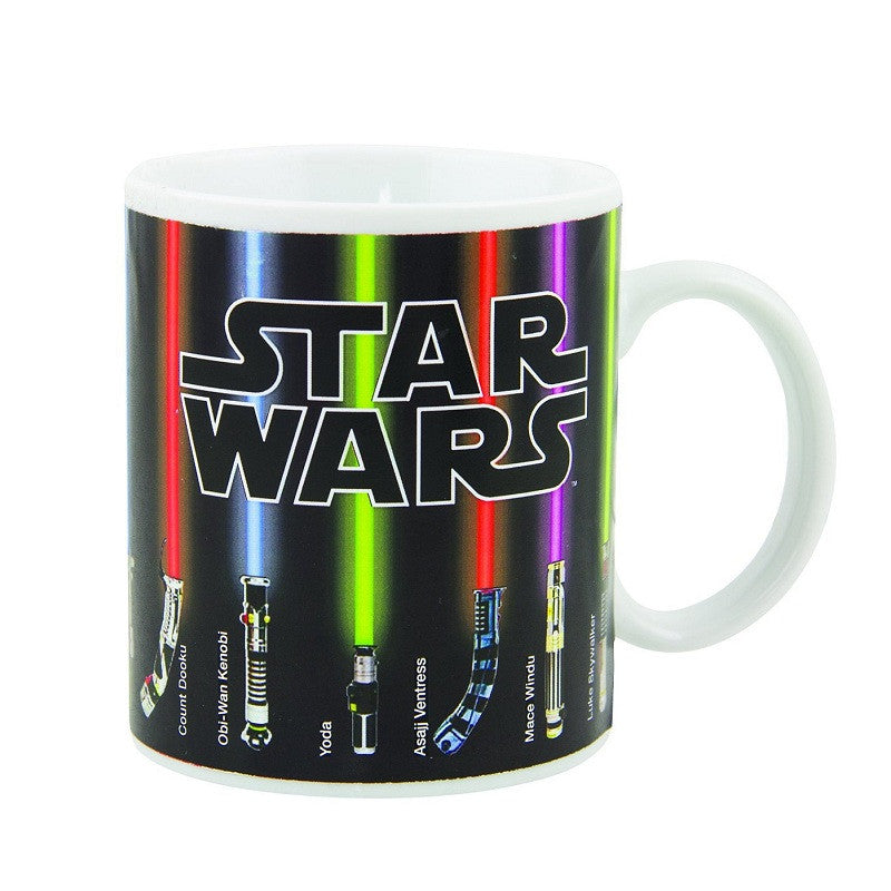 Star Wars Lightsaber - Ceramic Heat Changing Mug