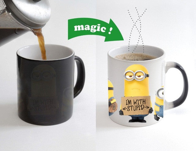 Despicable Me - Ceramic Heat Changing Mug