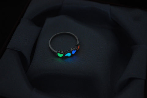 Glow In The Dark Luminous Ring