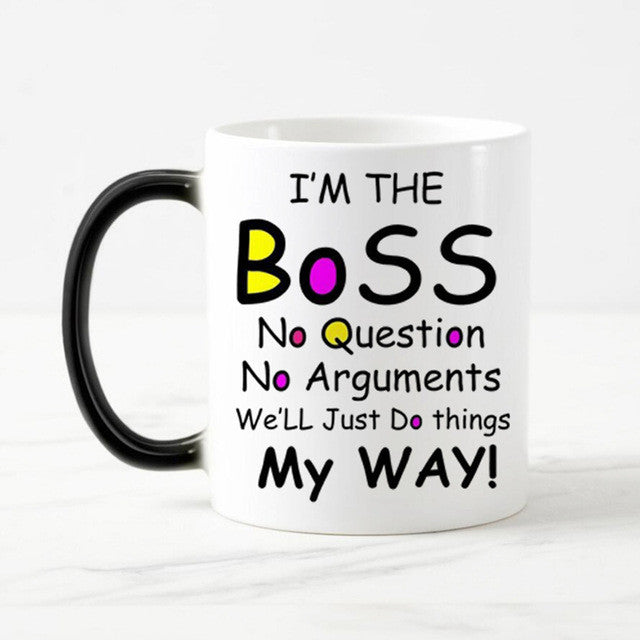 I'm The BoSS - Ceramic Heat Changing Mug