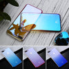 Image of Gradient Blue Ray Light Case For Apple iPhone 5, 5S, SE, 6, 6S Plus, 7, 7 Plus