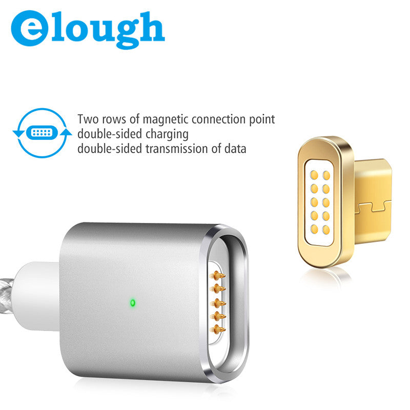 Magnetic Phone Charger for Android Phones with Micro USB Port