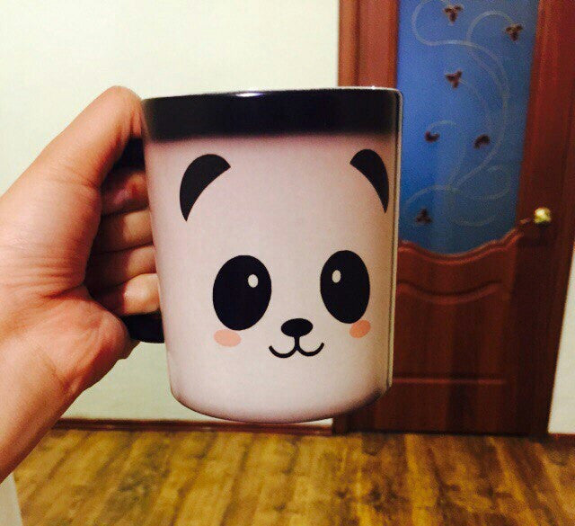 Panda - Ceramic Heat Changing Mug