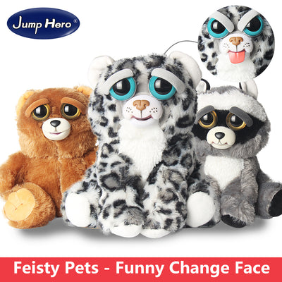 Feisty Pets: Stuffed animals that change from awwww to ahhhhh!