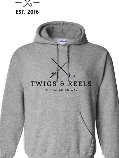 T&R grey classic hoodie