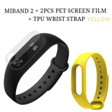 Original Xiaomi Mi Band 2 Miband 2 Wristband Bracelet Smart Heart Rate Monitor Fitness Tracker Touchpad OLED Strap In Stock