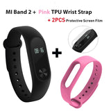 Global Version Xiaomi Mi Band 2 miband 2  fitness tracker heart rate monitor  & Oled display smartband 20days standby