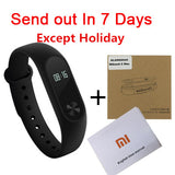 Original Xiaomi Mi Band 2 Smart Wristband Fitness Bracelet OLED Touchpad MiBand 2 Heart Rate Monitor Xiaomi mi band in Stock