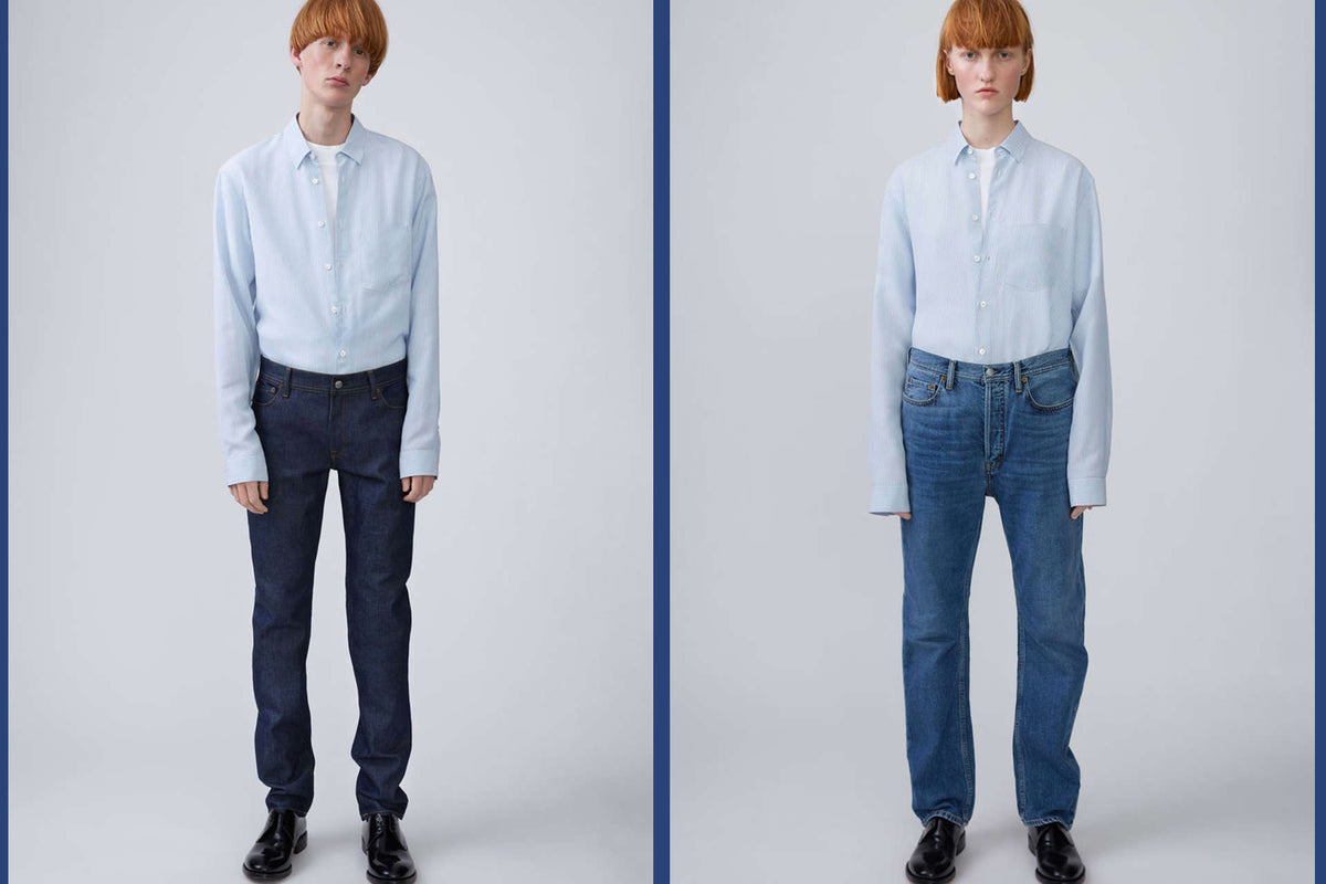 BLA KONST - NEW JEANS BY ACNE STUDIOS AT TENUE DE NÎMES