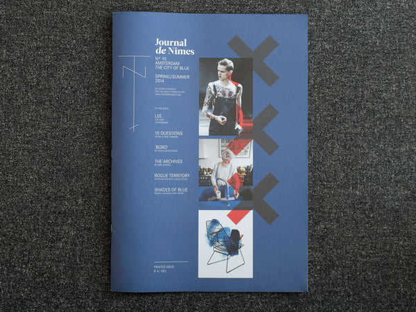 JOURNAL DE NÎMES Nº10 - AMSTERDAM, THE CITY OF BLUE ISSUE