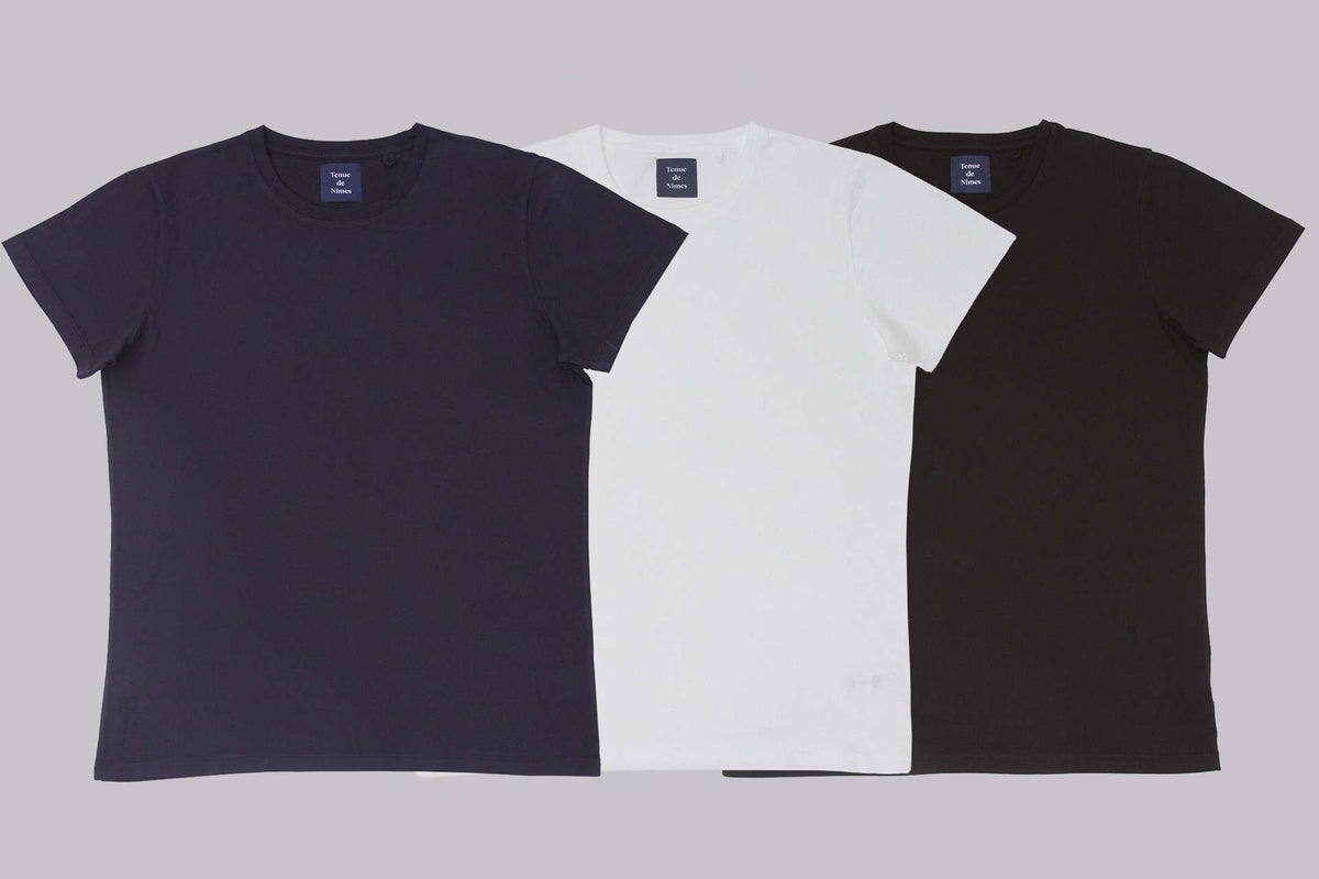 RE-STOCK TENUE DE NÎMES BASIC T-SHIRT 'JAMES'