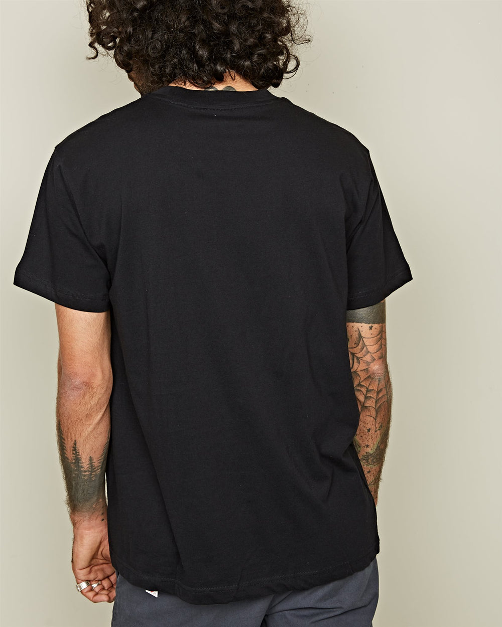 3PACK T-SHIRT BLACK