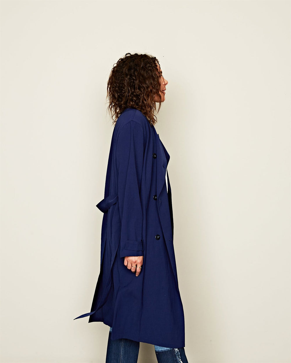 ANGHELICA TWILL NAVY