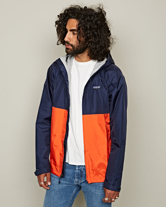 TORRENT SHELL NAVY/RED