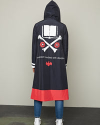 HOODED COAT BLACK BASE