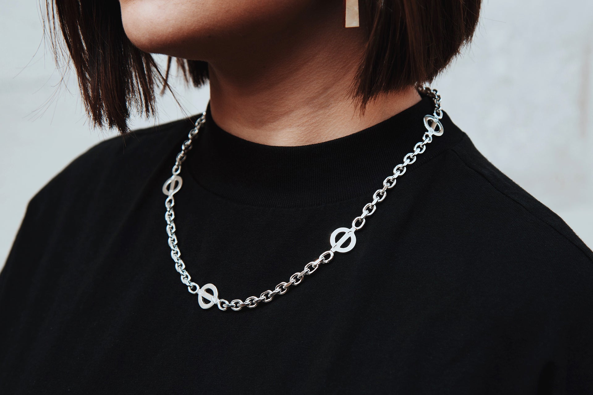 Baker St. London Link Necklace