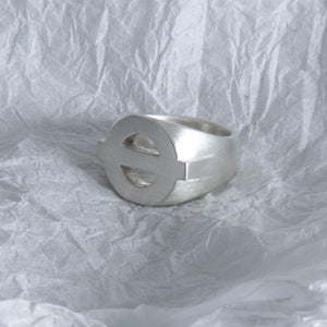 16. Baker St. Ring SIZE J Brushed Finish