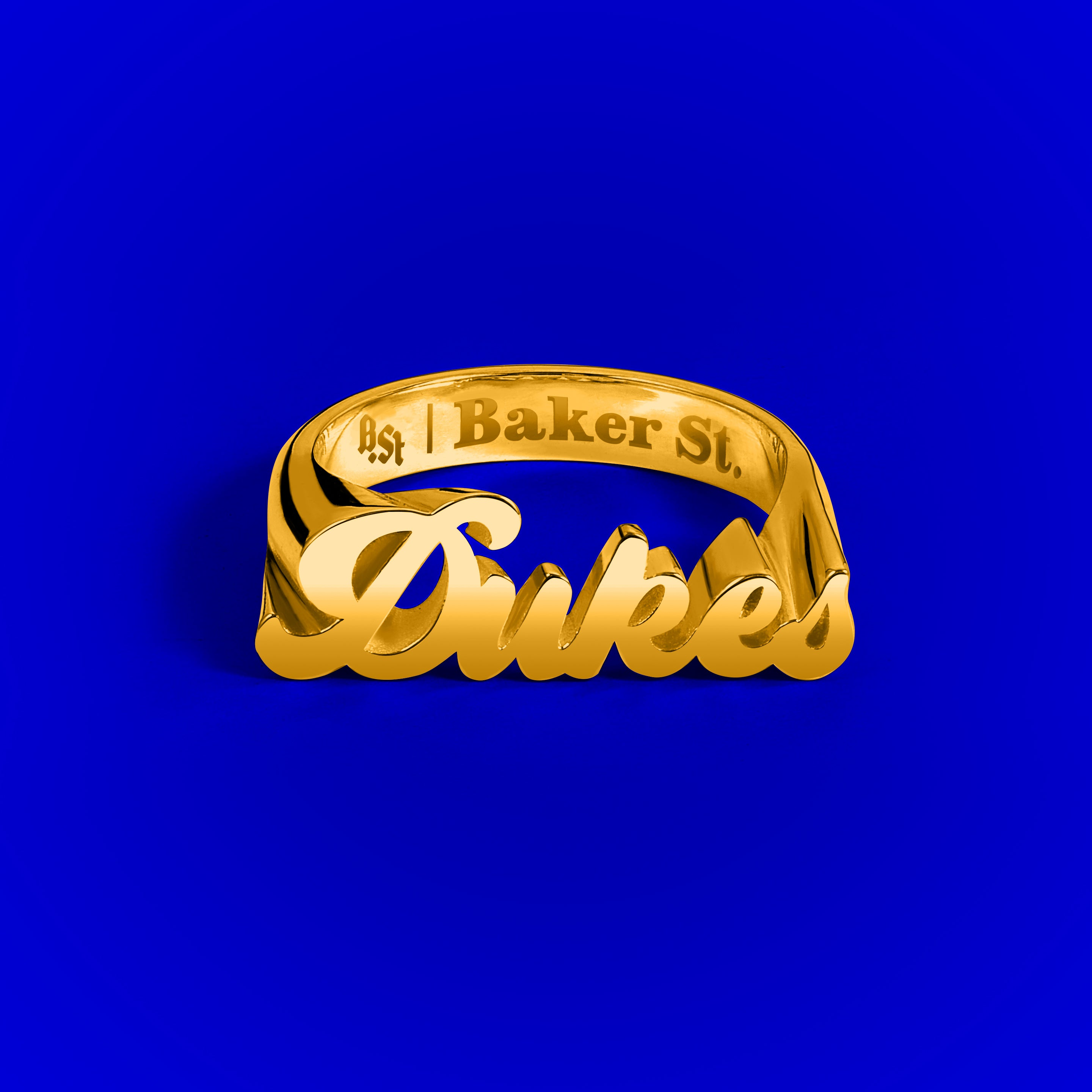 Dukes Cupboard x Baker St. Dukes 9ct Yellow Gold Ring