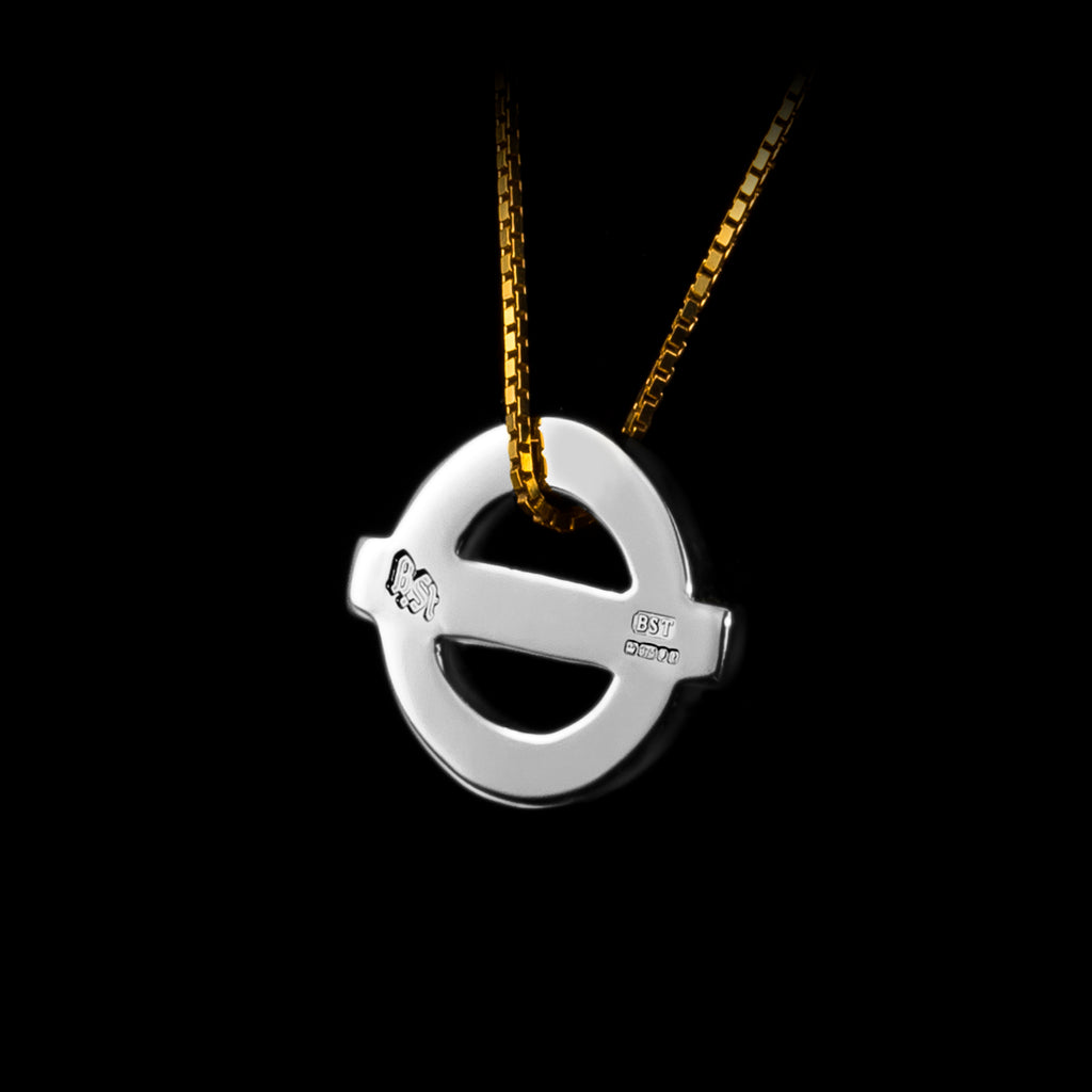 Baker St. Gold and Silver TfL Pendant Jewellery