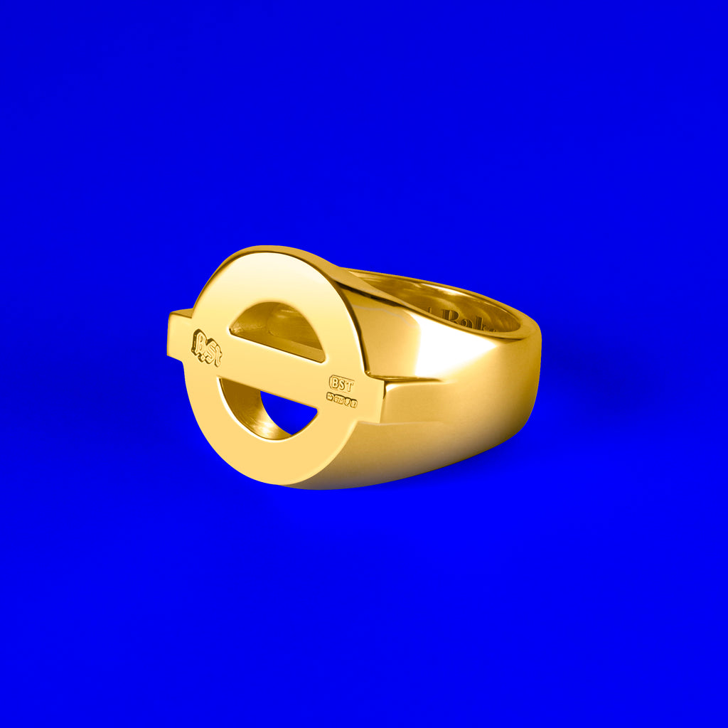 9ct Gold Baker St. Signet Ring