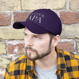Reel Cool Papa Funny Fisherman Dad Hat Embroidered Baseball Cap