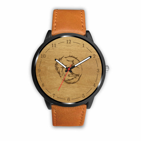 Brown Wolf Custom-Designed Watch